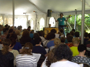 Monday Morning Community Sing - Big Tent-1